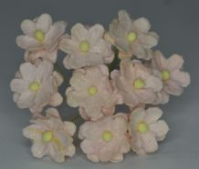 PALE PINK CHERRY BLOSSOM Mulberry Paper Flowers